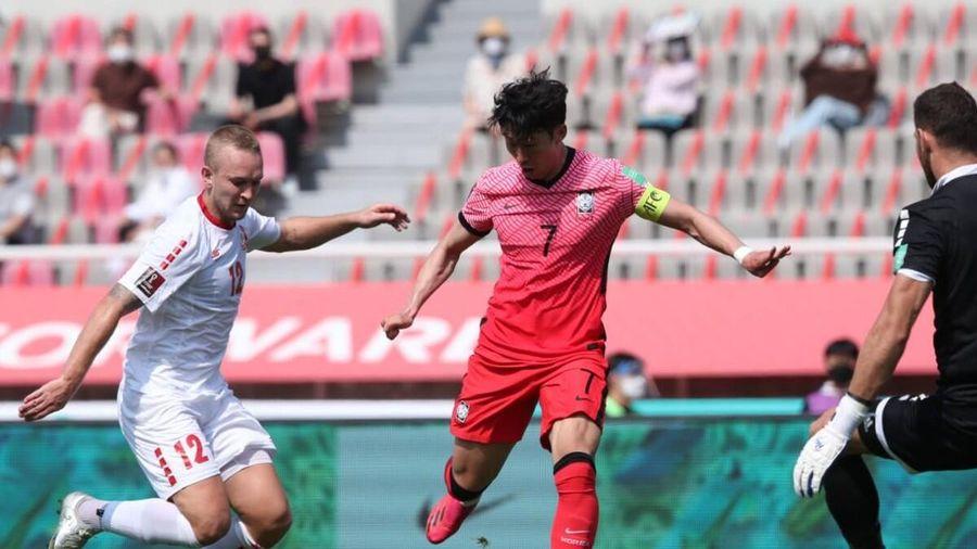 Hàn Quốc giúp tuyển Việt Nam đặt một chân vào vòng loại cuối cùng World Cup 2022