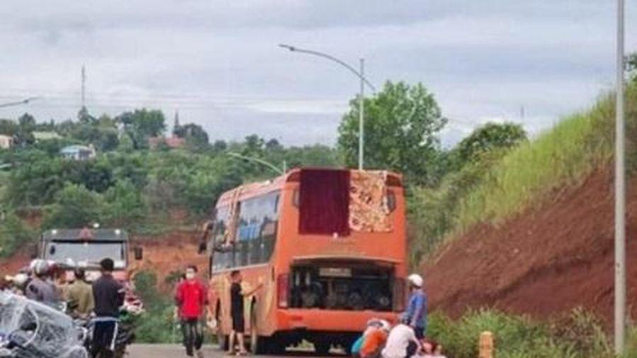 Đắk Nông: Đâm trực diện xe khách, người phụ nữ tử vong tại chỗ