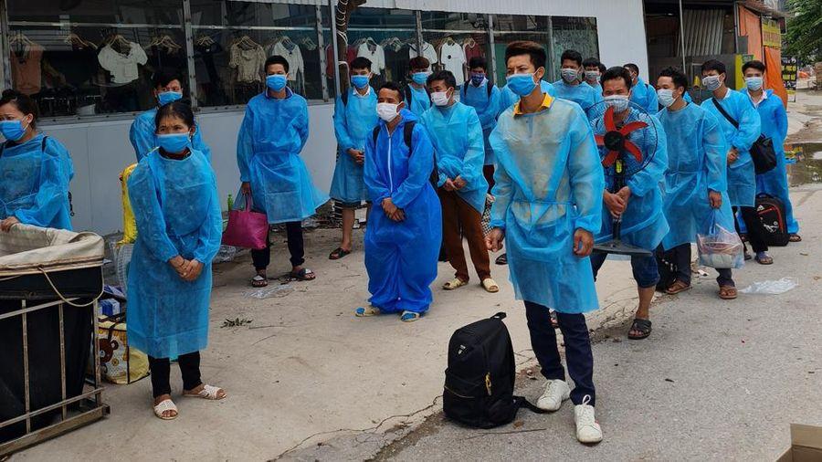 Thanh Hóa: Linh hoạt các biện pháp giám sát sức khỏe công nhân trở về từ Bắc Giang