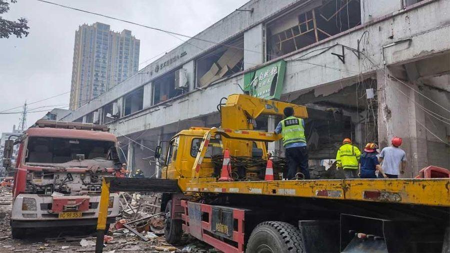 Trung Quốc: Nổ khí ga làm ít nhất 11 người thiệt mạng