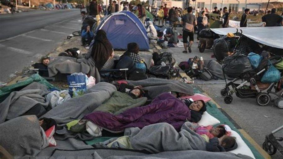 4 người Afghanistan bị tuyên án 40 năm tù vì đốt trại di cư ở Hy Lạp