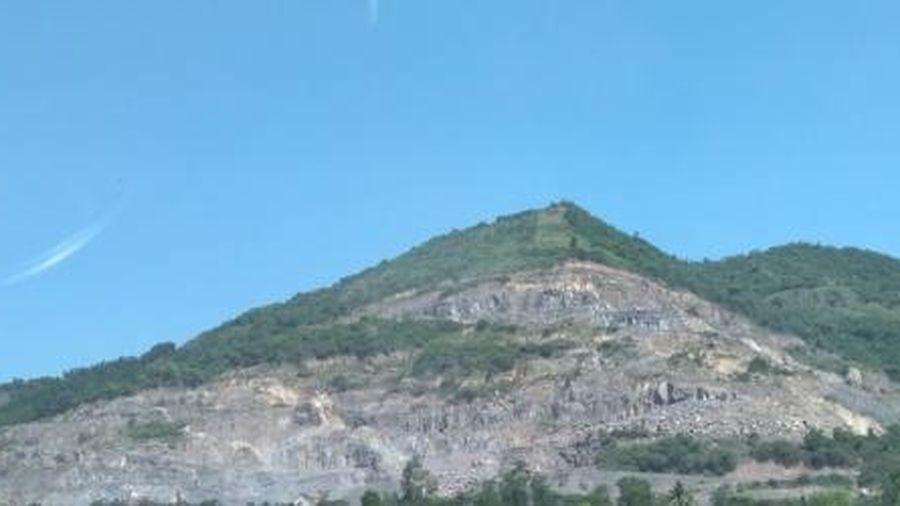Khánh Hòa: Khai thác đá vượt công suất 3 năm liền, một công ty bị xử phạt 700 triệu đồng