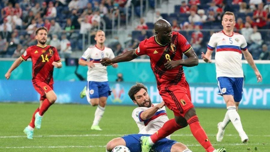 Kết quả EURO 2020: Lukaku ghi cú đúp, Bỉ thắng đậm Nga