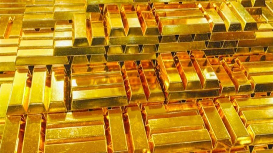 Giá vàng thế giới giảm thê thảm