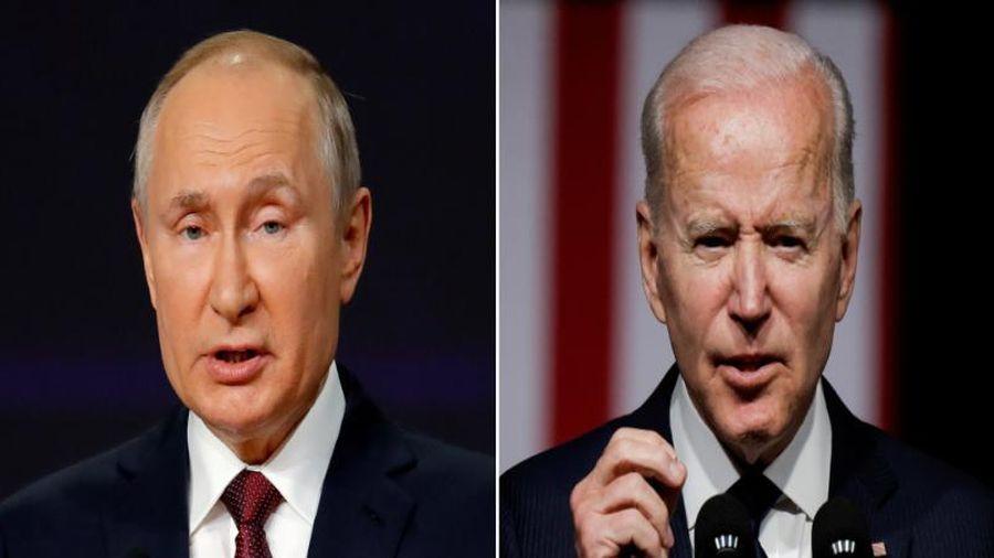 Ông Putin hy vọng cuộc gặp ở Geneva với ông Biden sẽ giúp nối lại quan hệ Nga-Mỹ