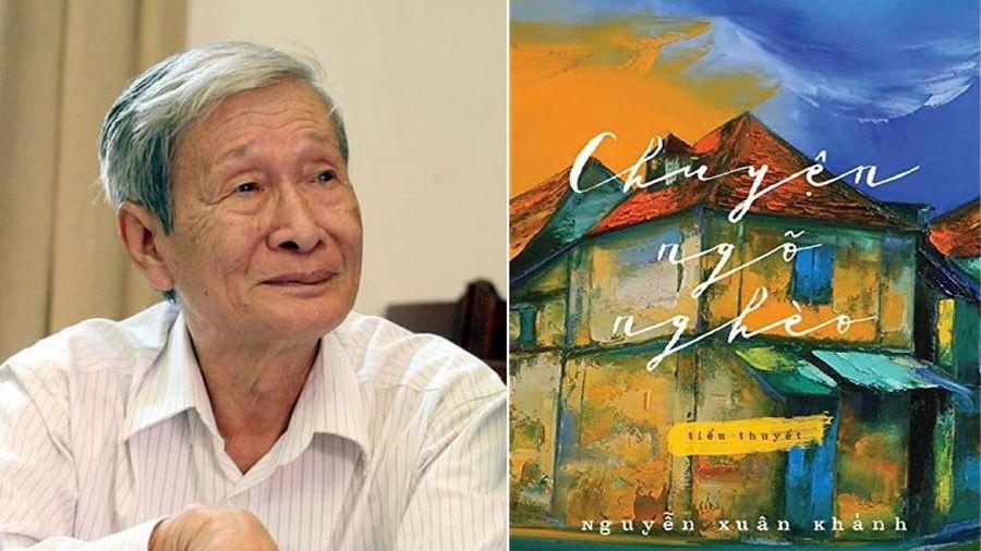 Nhà văn Nguyễn Xuân Khánh đã mang gạo lên chùa