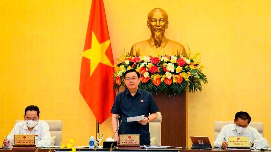 Khai mạc Phiên họp 57 Ủy ban Thường vụ Quốc hội: Chuẩn bị cho Kỳ họp thứ nhất Quốc hội khóa XV