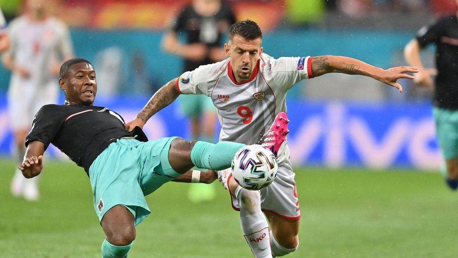 Áo vs Bắc Macedonia 3-1: Hiệp 2 bùng nổ