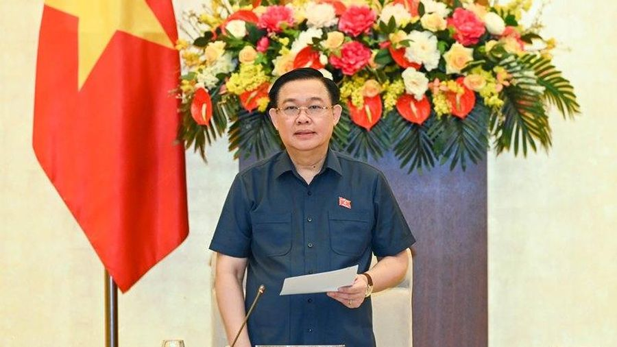 Khai mạc phiên họp thứ 57 của Ủy ban Thường vụ Quốc hội