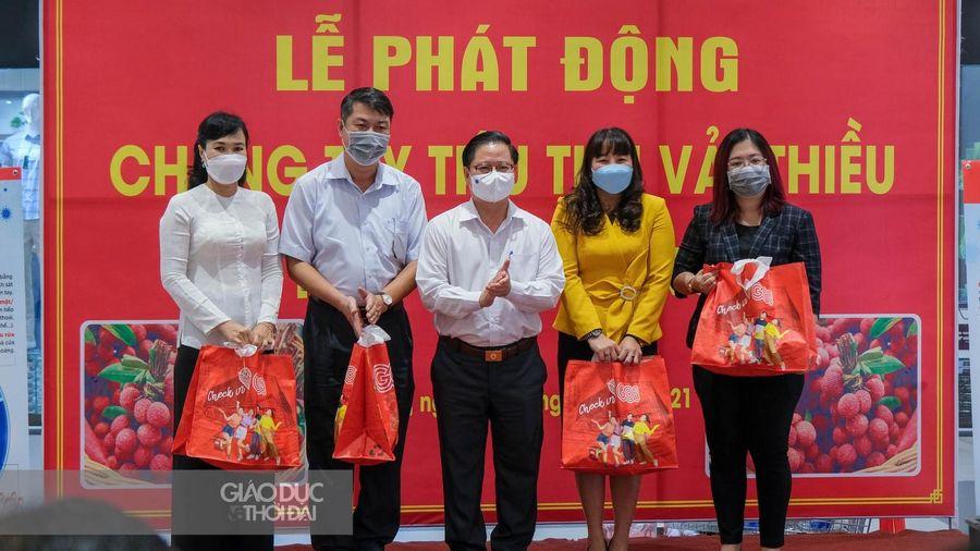Cần Thơ chung tay cùng nông dân trồng vải thiều Bắc Giang
