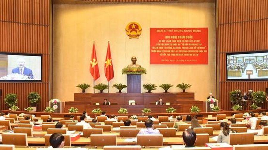 Học tập và làm theo tư tưởng, đạo đức, phong cách Hồ Chí Minh: Đừng nói một đằng, làm một nẻo