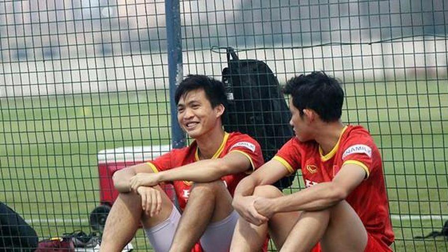 Tuấn Anh nghỉ buổi tập thứ 2 của đội tuyển Việt Nam