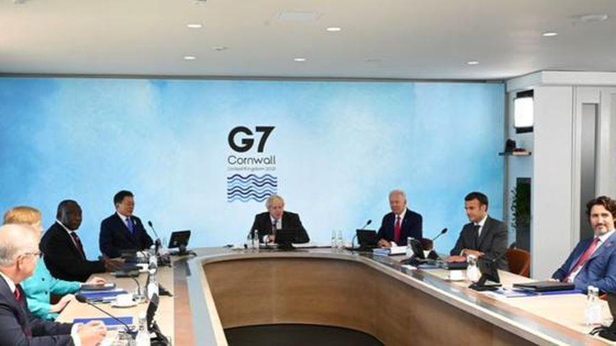 Tuyên bố chung G7 bày tỏ quan ngại tình hình Biển Đông