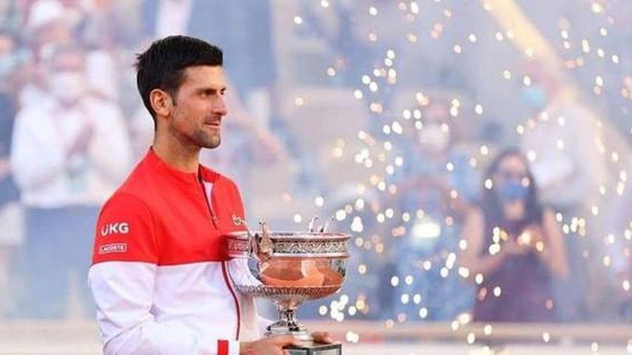 Djokovic vô địch Roland Garros 2021