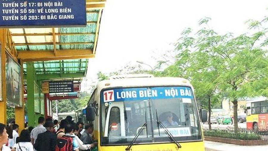 Chưa mở thêm 4 tuyến buýt mới đi sân bay Nội Bài
