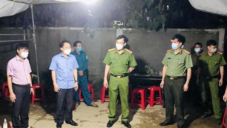 Công an Hương Sơn khởi tố vụ án hình sự làm lây lan dịch bệnh truyền nhiễm nguy hiểm cho người