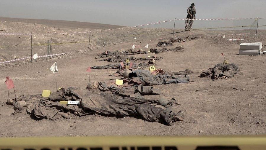 Iraq khai quật hơn 100 thi thể tại các ngôi mộ tập thể gần Mosul