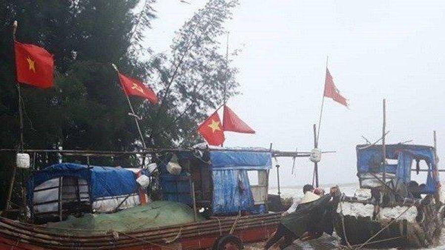 Thanh Hóa: Đã tìm thấy một ngư dân mất tích trong bão số 2