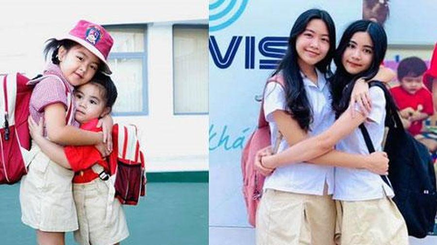 Hình ảnh thay đổi sau 10 năm của hai con gái Quyền Linh: Ngày nào còn bé xíu đáng yêu giờ đã thay đổi đặc biệt thế này đây