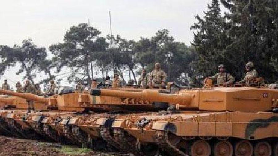 Leopard 2A4 trang bị giáp titan sau đòn nhớ đời tại Syria