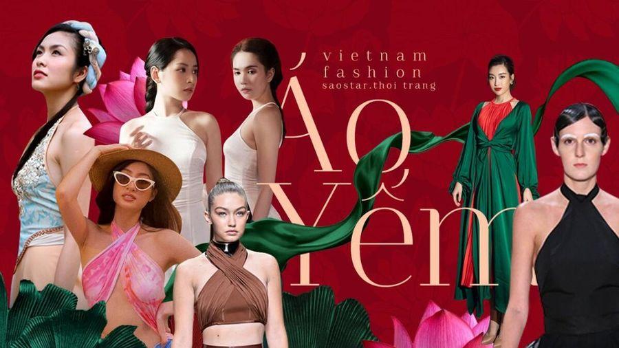 Áo yếm - Item thời trang vừa truyền thống & hiện đại chiếm sóng làng mốt