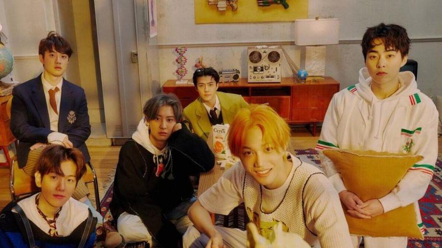 Don't Fight The Felling cán mốc quan trọng khoản bán album, EXO lần 6 đạt thành tích này