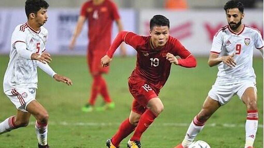 Trang chủ FIFA: ' Việt Nam - UAE là trận chiến sinh tử'
