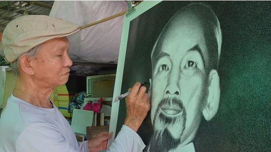 Người họa sĩ trọn đời vẽ chân dung Bác Hồ