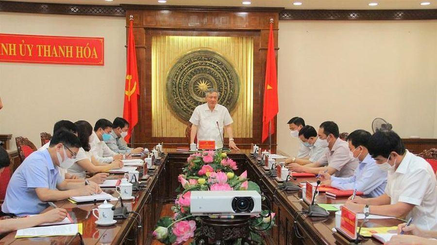 Chánh án Tòa án Nhân dân tối cao Nguyễn Hòa Bình làm việc tại Thanh Hóa