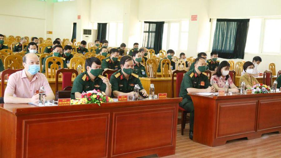 Bộ CHQS tỉnh: Khai mạc Hội thi báo cáo viên giỏi LLVT tỉnh năm 2021