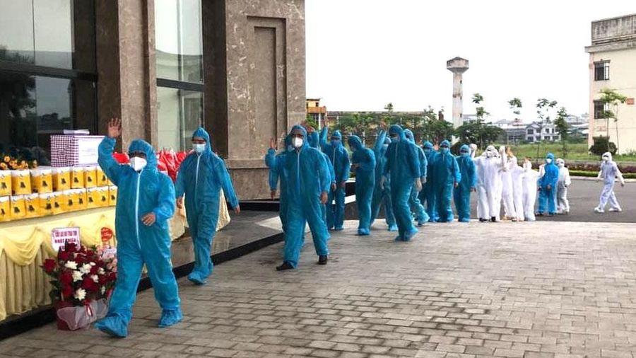 Bảo đảm an toàn khi đón công dân trở về từ Bắc Giang