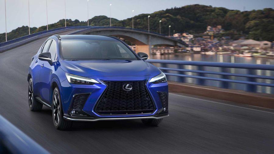 Lexus ra mắt mẫu xe NX, mở đầu kỷ nguyên điện khí hóa