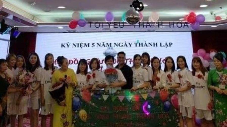Ra mắt đội bóng đá nữ Thanh Hóa tại Macau (Trung Quốc) nhân 5 năm thành lập