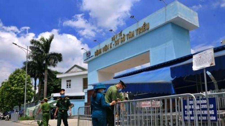 Dỡ phong tỏa Bệnh viện K cơ sở Tân Triều