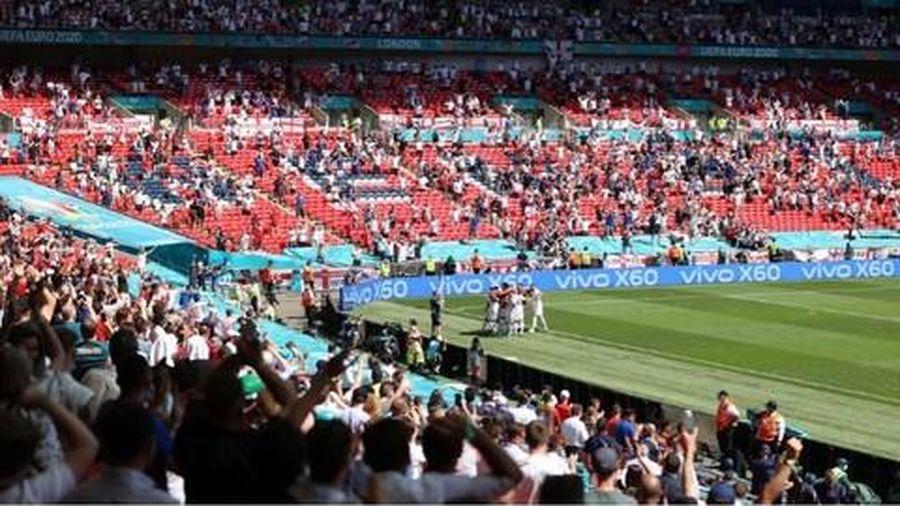 Một cổ động viên bị thương nặng khi ngã từ khán đài sân Wembley