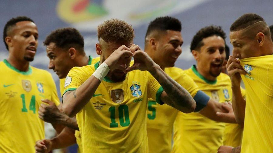 Neymar thăng hoa, Brazil thắng Venezuela '3 sao' ngày khai mạc Copa America 2021