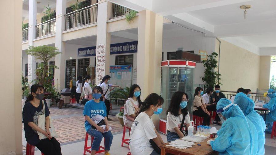 16.000 thí sinh và cán bộ coi thi kỳ thi tuyển lớp 10 ở Đà Nẵng có kết quả âm tính