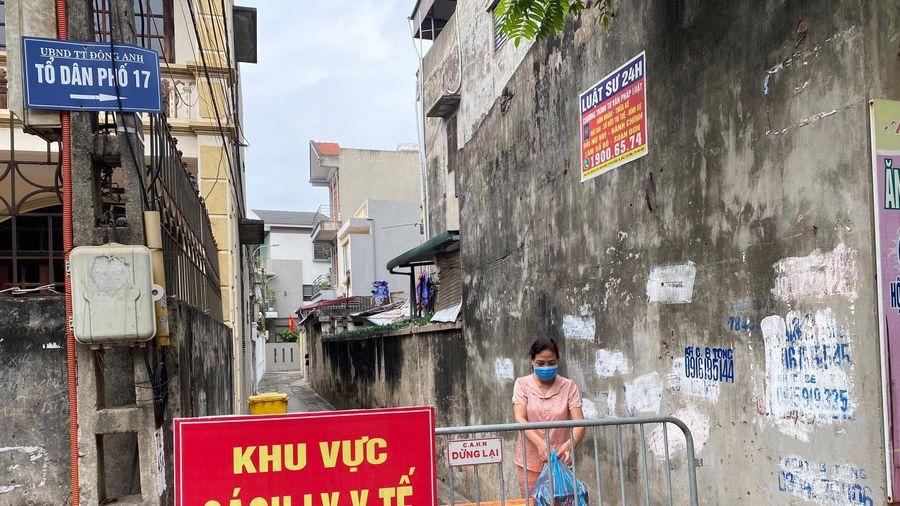 Hai người dương tính SARS-CoV-2 mới ghi nhận ở Hà Nội liên quan ổ dịch Đông Anh