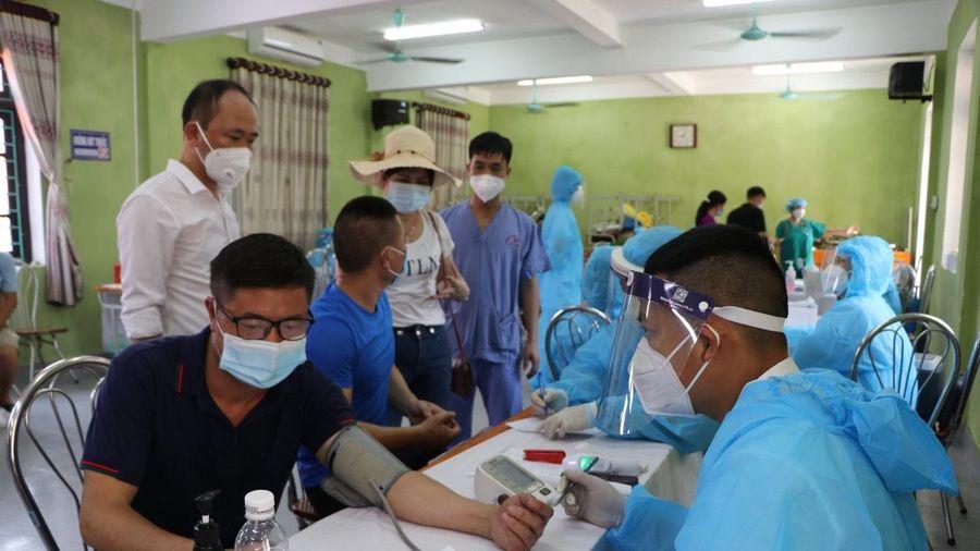 Chủ tịch huyện Lục Ngạn: Người mắc COVID-19 trong khu cách ly do ủ bệnh từ trước