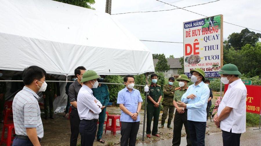 Hà Tĩnh khởi tố vụ án làm lây lan dịch bệnh COVID-19 ở huyện Hương Sơn