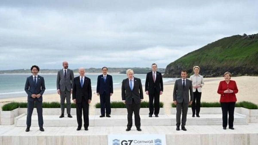 G7 bắt tay chia sẻ vắc xin, phục hồi kinh tế