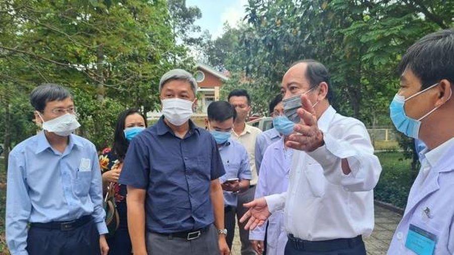 Thứ trưởng Nguyễn Trường Sơn làm Trưởng bộ phận thường trực chống dịch COVID-19 của Bộ Y tế tại TP. HCM
