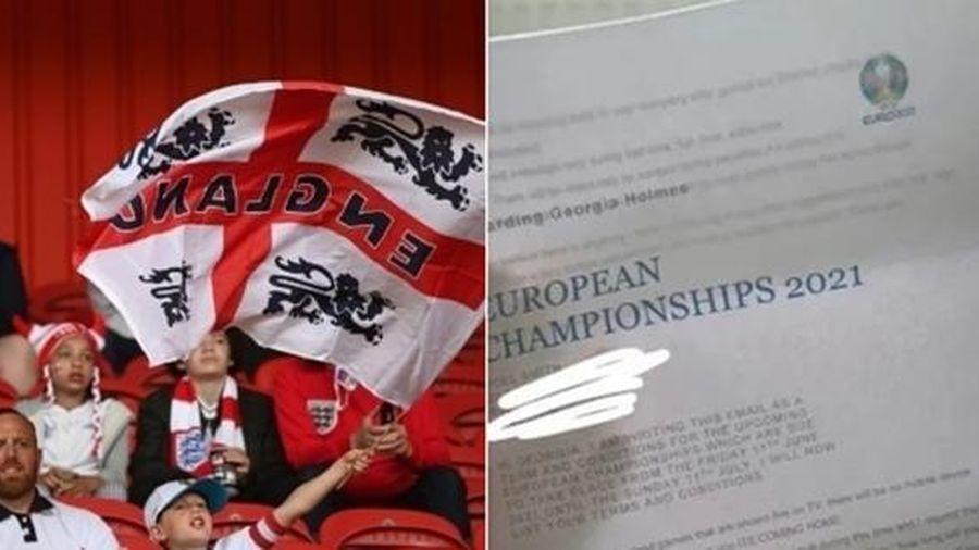 Cô gái mách cộng đồng mạng khi người yêu gửi 'hợp đồng tình yêu' mùa EURO đầy rẫy cấm đoán