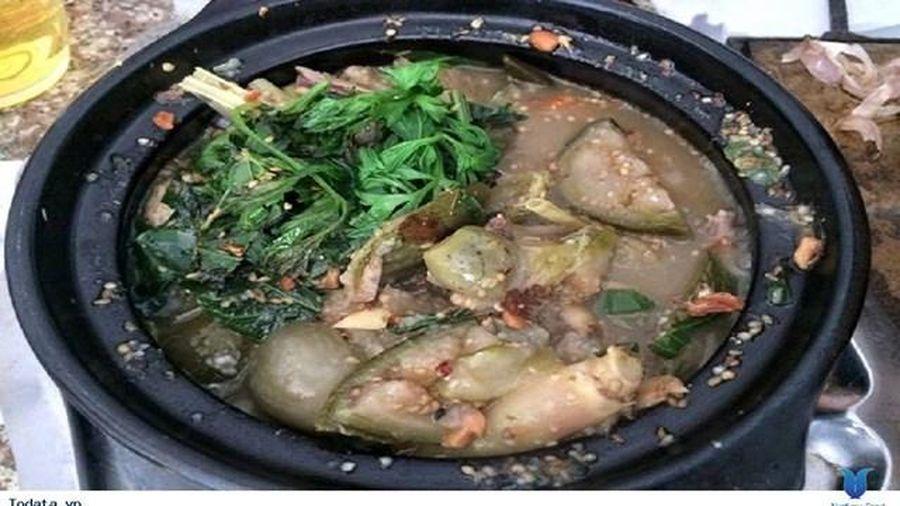 Canh cà đắng nấu cá khô