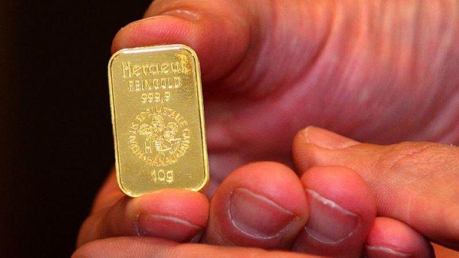 Giá vàng rớt mạnh, chỉ còn 52 triệu đồng/lượng