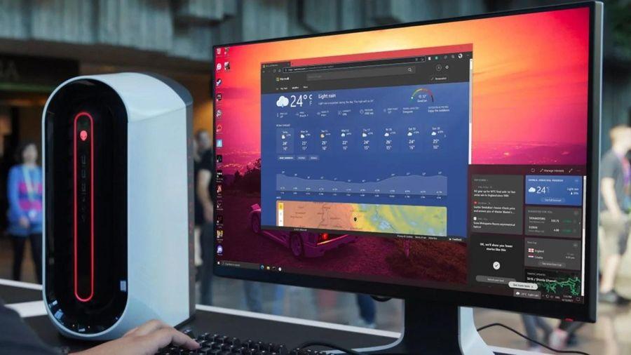 Cách gỡ bỏ công cụ dự báo thời tiết trên Windows 10