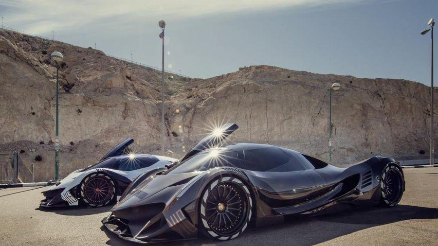 Những siêu xe triệu USD bí ẩn tại UAE