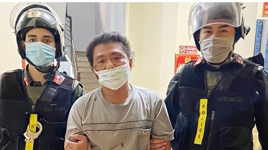 Giải cứu người phụ nữ bị chồng 'ngáo đá' dọa giết