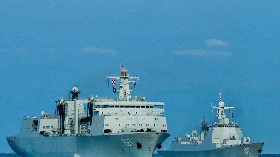 Tàu khu trục mới của Trung Quốc tập trận ở Biển Đông
