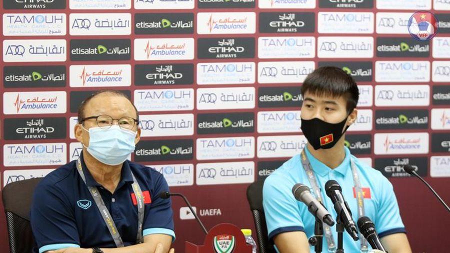 Đội tuyển Việt Nam sẽ chơi đúng đấu pháp trước UAE